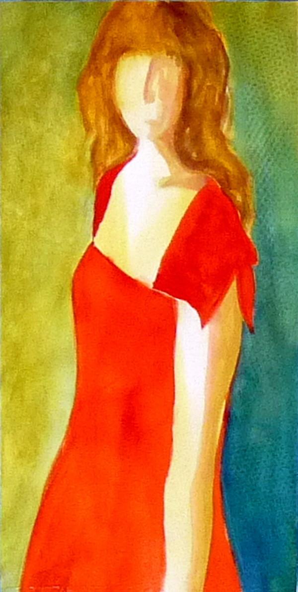 """Girl in Red"" by Mari O'Brien"