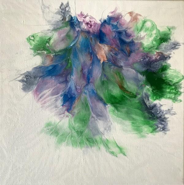 """""""Floating Ocean Flowers: Two"""" by Mari O'Brien"""
