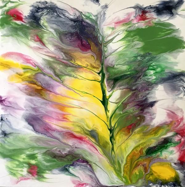 """""""Floating Ocean Flowers: Five"""" by Mari O'Brien"""