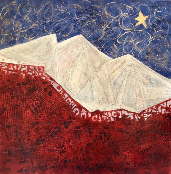 Ragged Landscape by Mari O'Brien