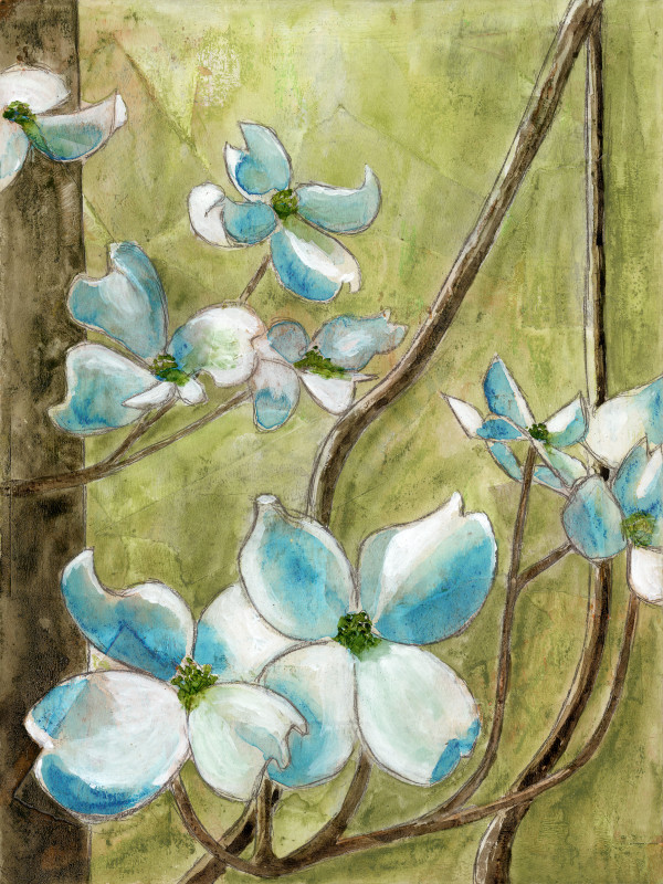 Dogwoods 3 by Jacque Thompson