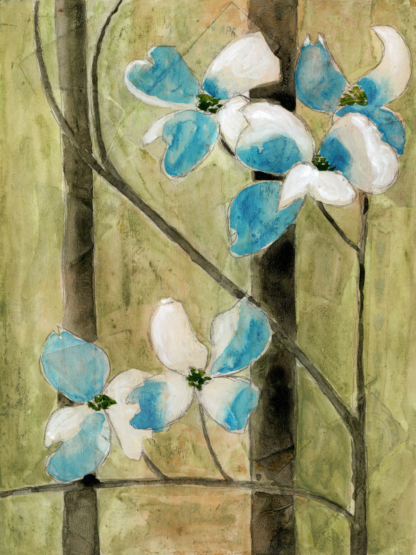 Dogwoods 2 by Jacque Thompson