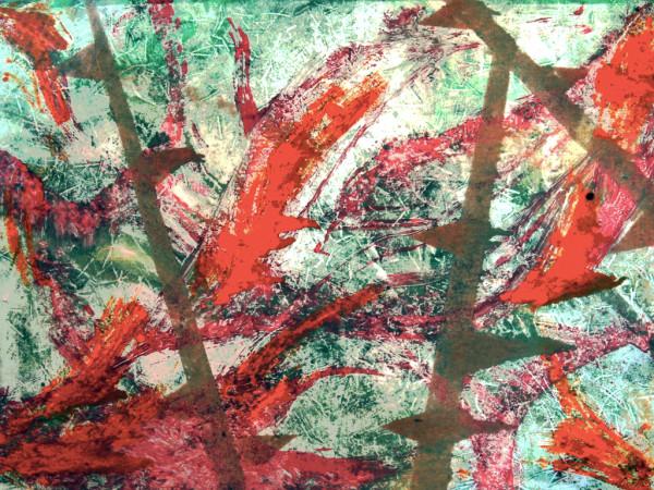 Jungle Flora by Alexandra Jordankova