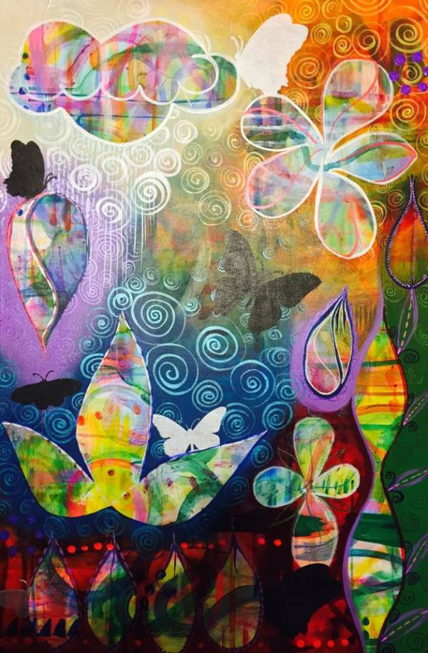Butterfly Garden by Mark Williams