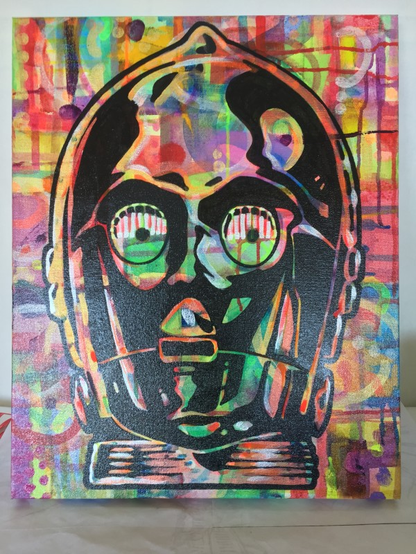 C3PO remixed by Mark Williams