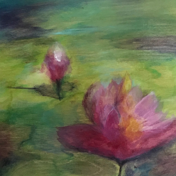 Lotus Flower by Susi Schuele