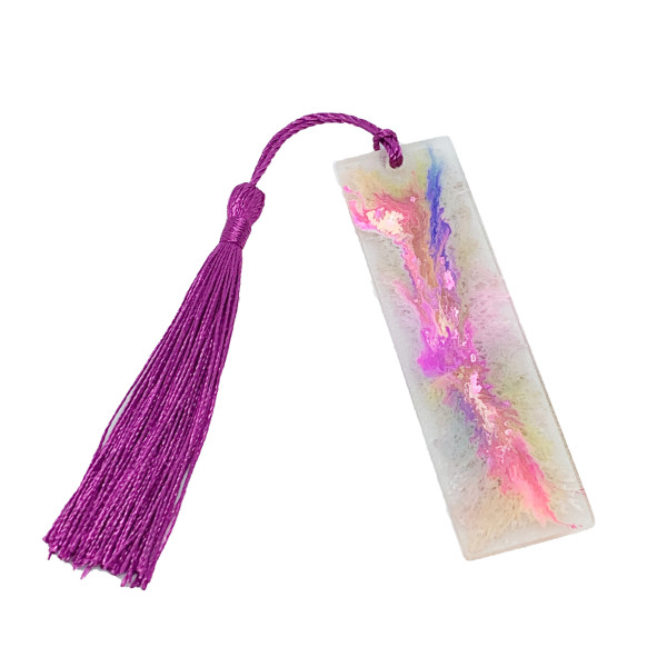 """Resin Bookmark - Small  - 3.7"""" #6 by Susi Schuele"""