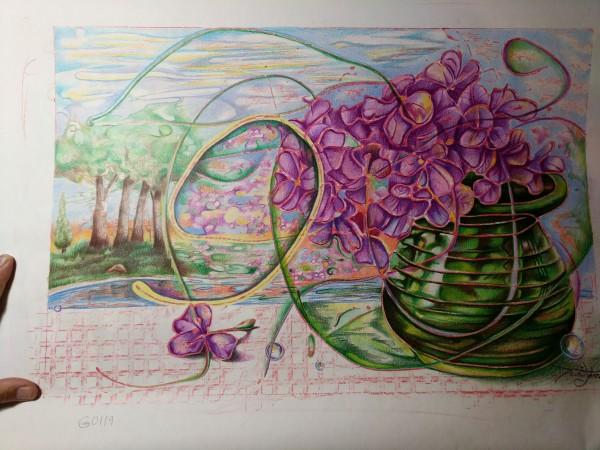 Hydrangea by David Heatwole