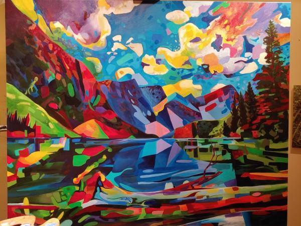 Lake of shifting planes by David Heatwole