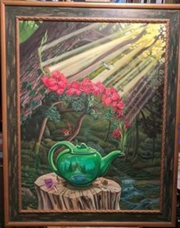 in-Sani Tea - Mandela Blend with hint of Gladiola blossom by David Heatwole