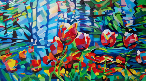 """""""Blooms among the planes"""" by David Heatwole"""