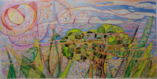 Sunny Daze-Energized Landscape by David Heatwole