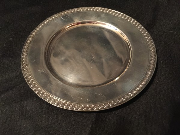 French, Pair of Silver Coasters (2)