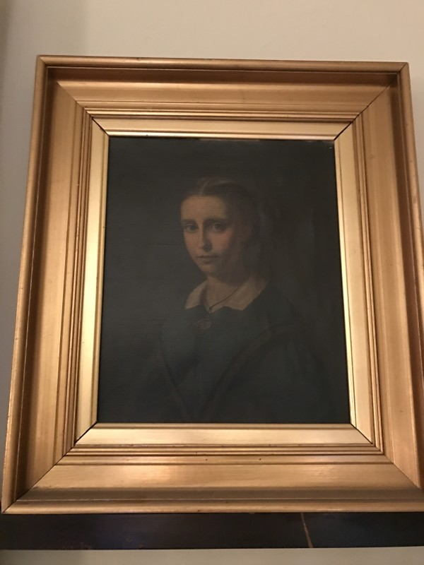 French School, Portrait of a Girl c.1870