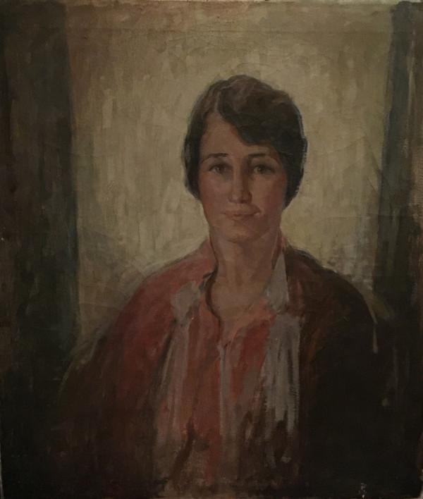 English School, Portrait of a Lady, c1910