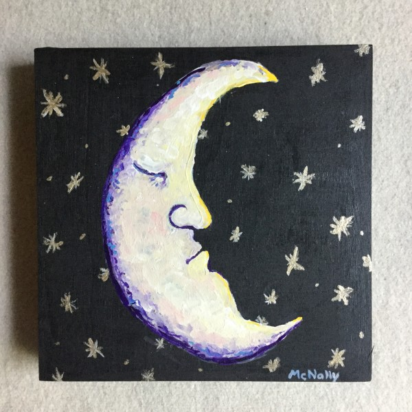 Sleepy Moon by Elizabeth Ann McNally