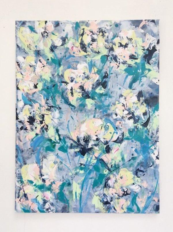 Spring Greens by Dana Mooney