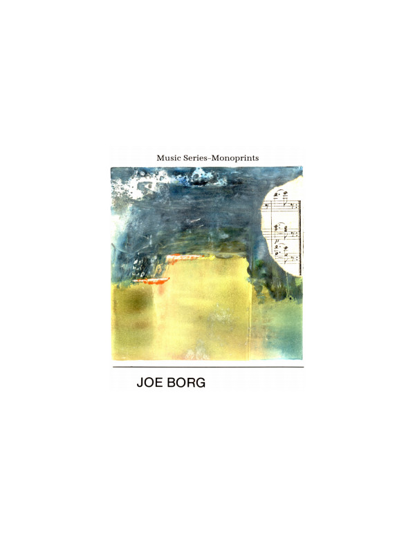 Untitled monotype, from the music series by Joe Borg