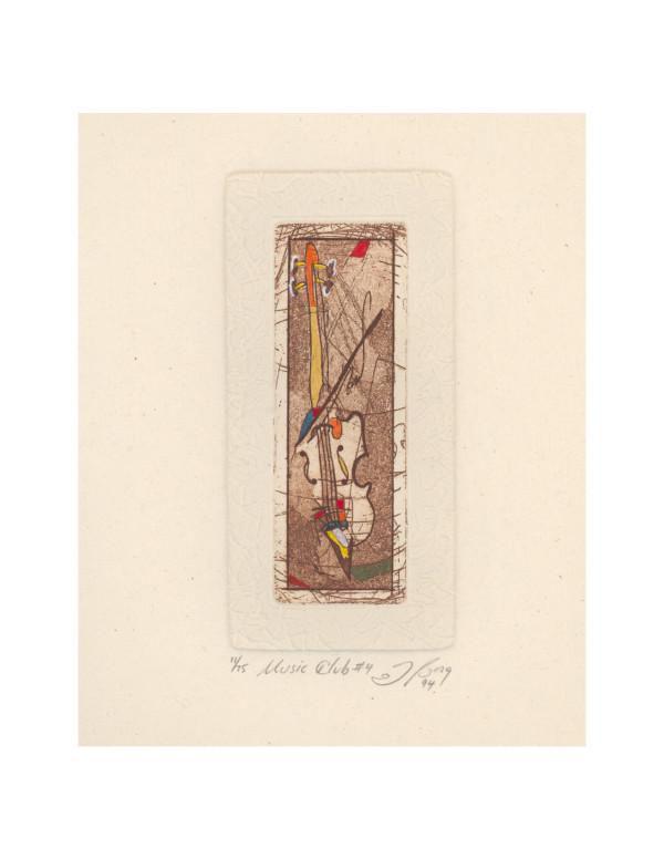 Music Club #4 (six prints) by Joe Borg