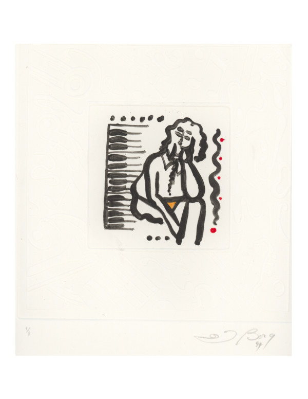 Untitled, from the Music series by Joe Borg