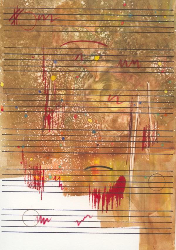 Patterns of Music # 15 by Joe Borg