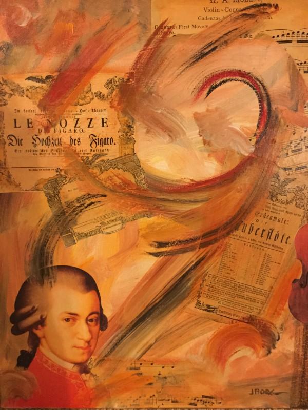 Mozart by Joe Borg