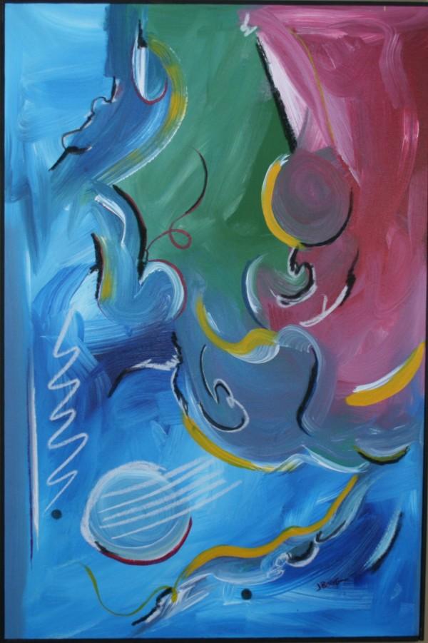 Blue Swan by Joe Borg