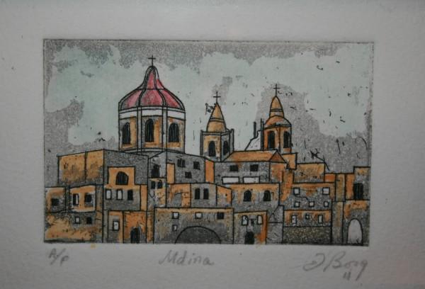Mdina [Medina] by Joe Borg