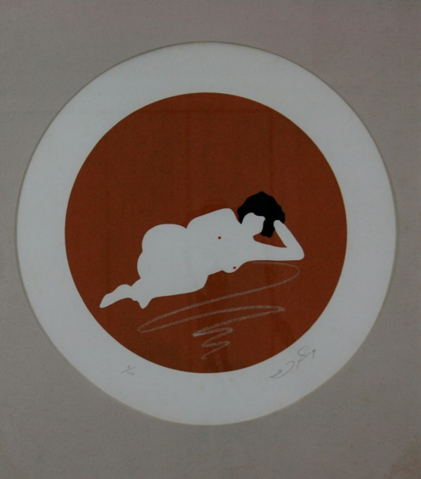 Untitled [Reclined Nude] by Joe Borg