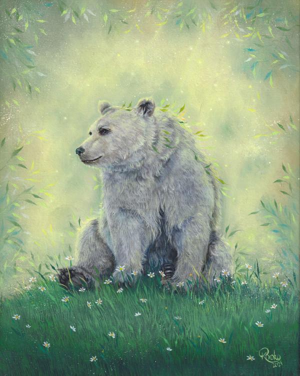 A sunny meadow by Kseniia Boko