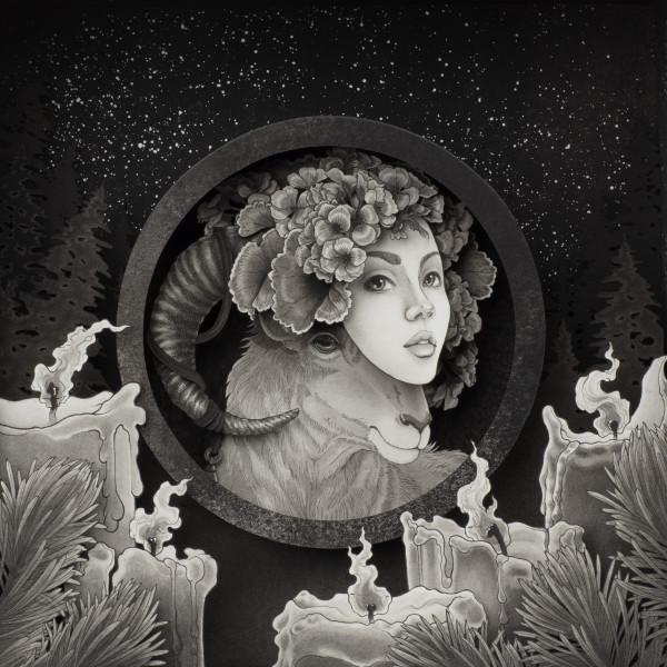 """""""羊"""" (Yáng) by Daria Aksenova"""