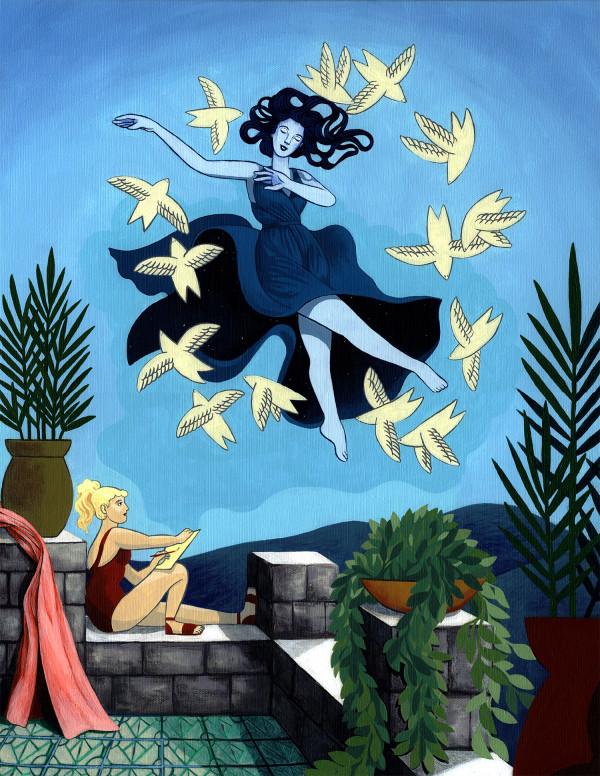 Imaginary Muse by Anjipan
