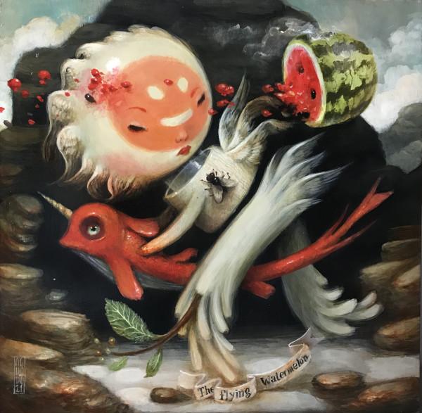 Flying Watermelon by Jesús Aguado