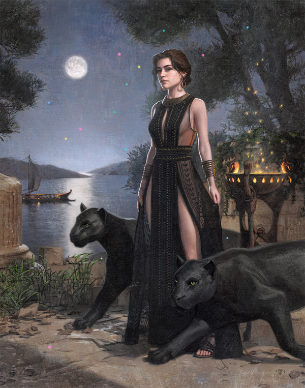 Circe - After Dulac by Tom Bagshaw