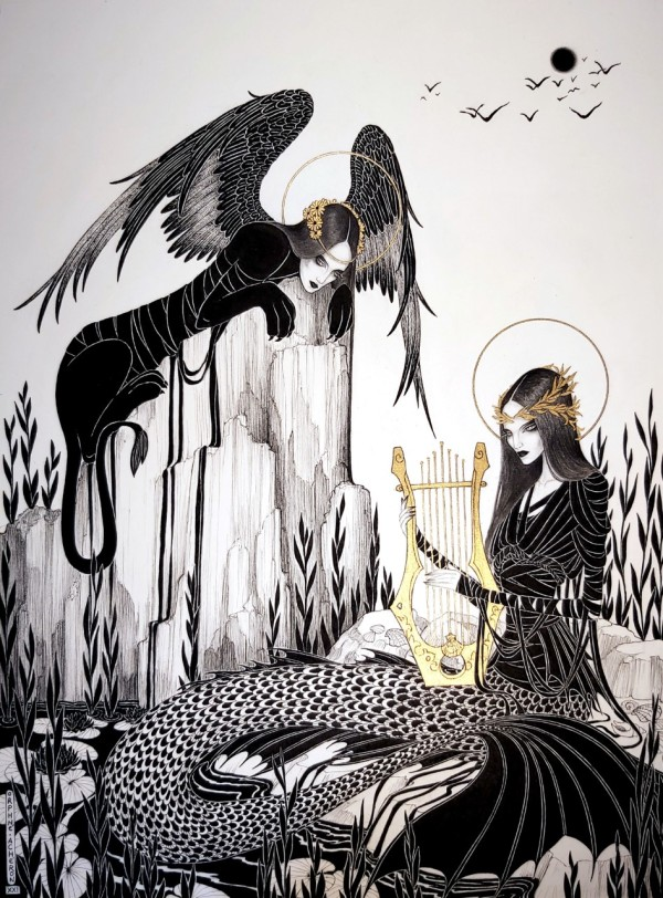 CHIMERAS' SONG by Orphné Achéron