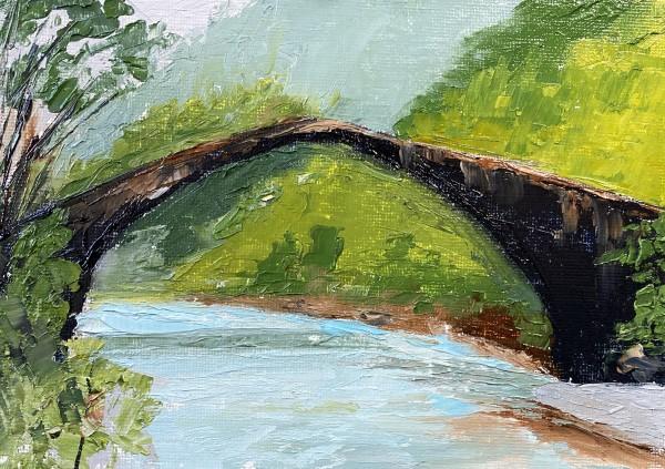 Dragon's Bridge by Phyllis Sharpe