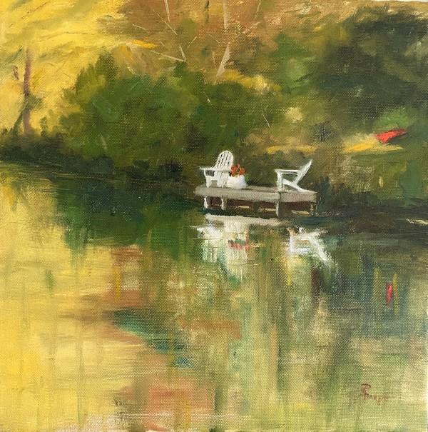Evening Dock by Phyllis Sharpe
