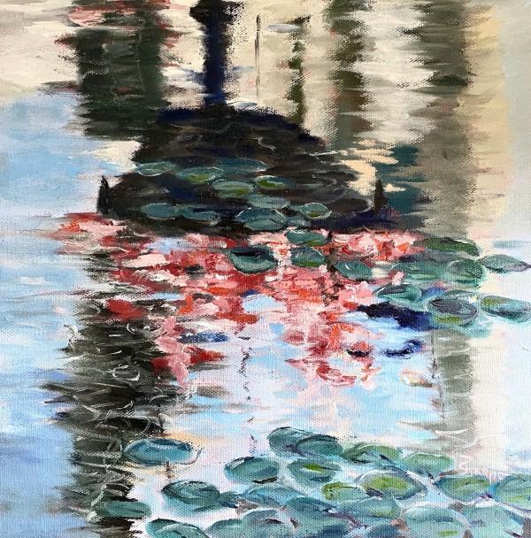 Pool of Flowers by Phyllis Sharpe