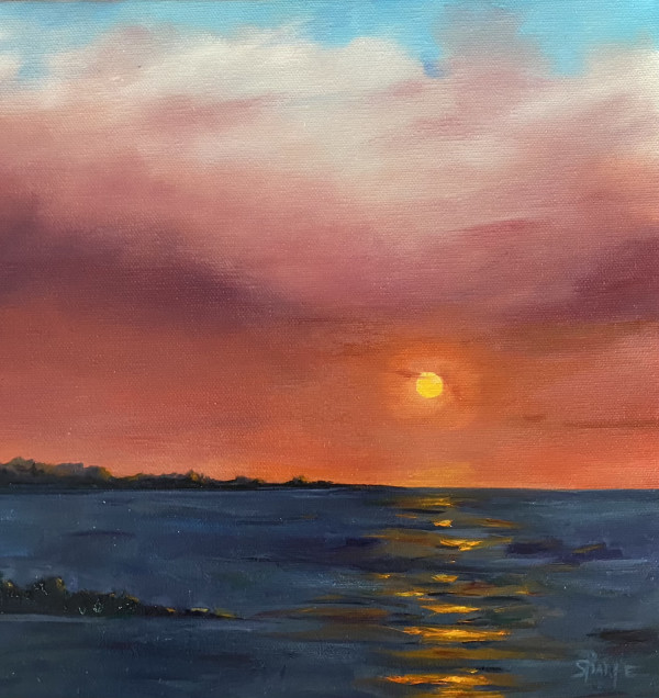 Summer Sunset by Phyllis Sharpe