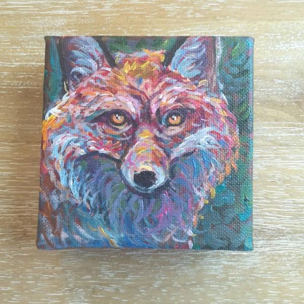Fox Portrait by Stephanie McGregor