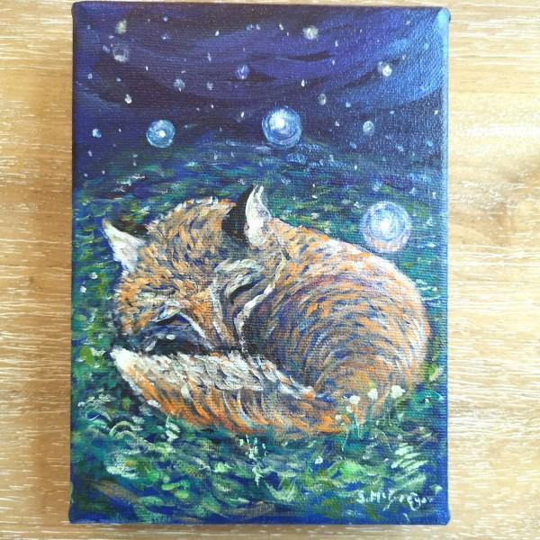 Dreaming Fox by Stephanie McGregor