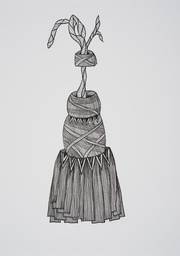 Exuberant (Framed) by Helen Fraser