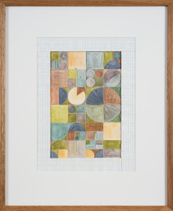 The Jefferson Grid 1 by Helen Fraser