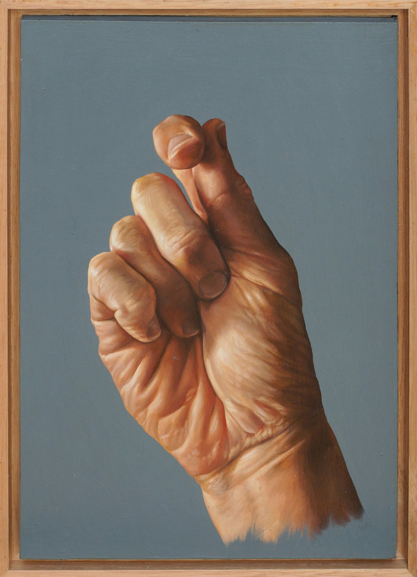 Hand Study by Daevid Anderson