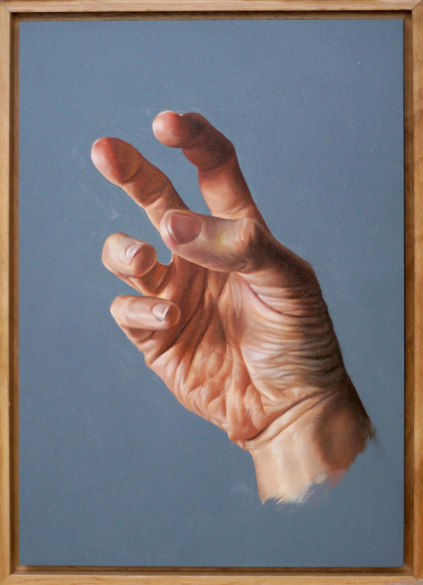 Hand Study #3 by Daevid Anderson