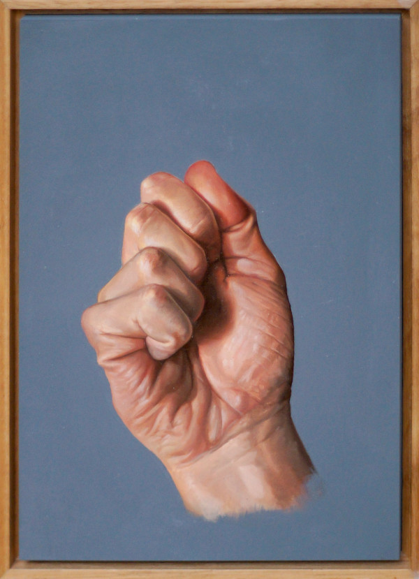 Hand Study #4 by Daevid Anderson