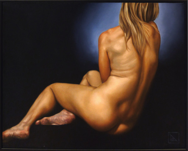 Nude Reclining #1 by Daevid Anderson