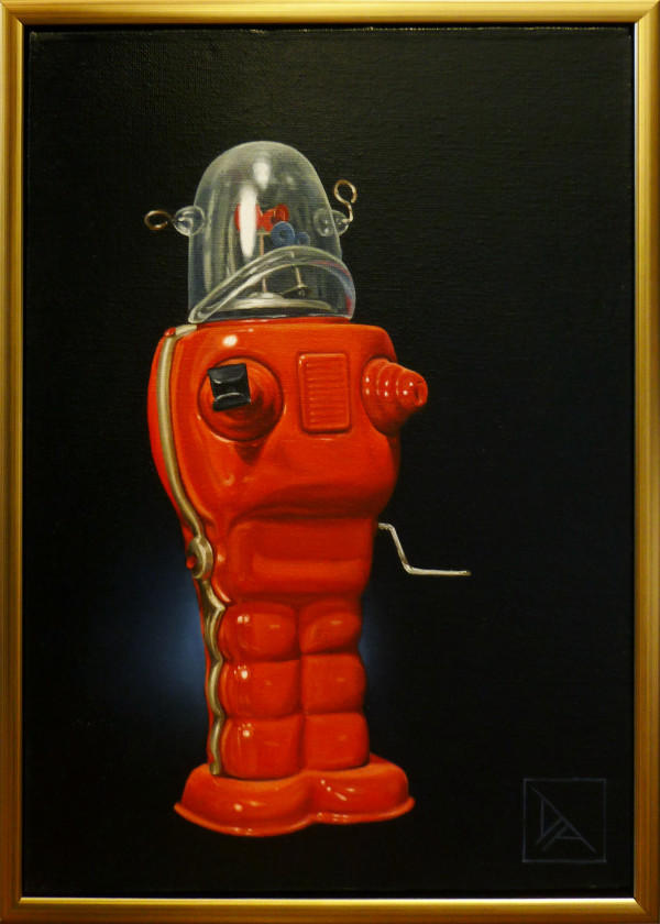 Red Robot by Daevid Anderson