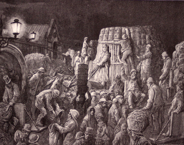 Illustration  / Woodcut by Paul Gustave Dore