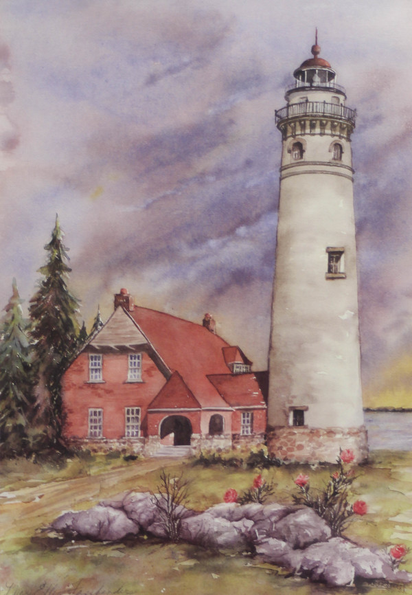 Lighthouse by Mary Ellen Fassbender